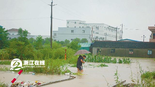 浙江余姚城区70被淹 政府发布告市民书 - 商界商城 - 商界商城