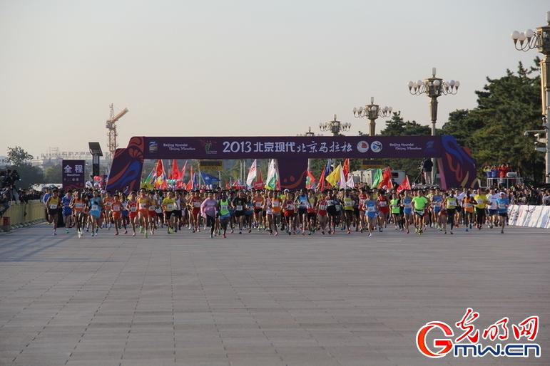 2017北京马拉松线路图片 2017北京马拉松线路图片大全 社会热点图片 图片