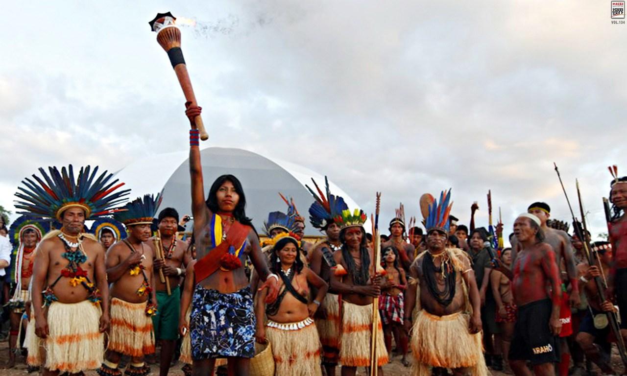 印第安人的 奥运会 (2)_光明网