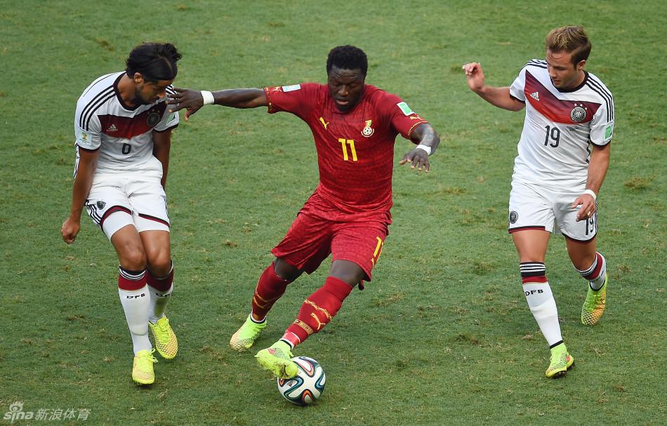 加纳vs美国交战记录_克洛泽进球救主平大罗纪录 德国2-2平加纳