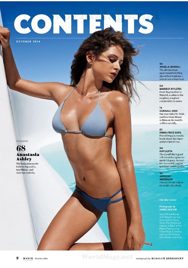 衝浪運動員比基尼性感寫真 好身材不輸超模
