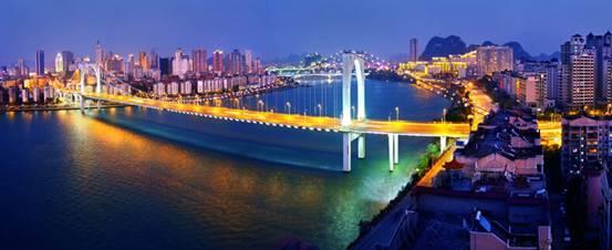 2014IAC盛大开幕 黄金周来柳州看山看水看赛