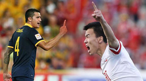 亚洲杯八强盛筵来袭,中澳对决哪家强?