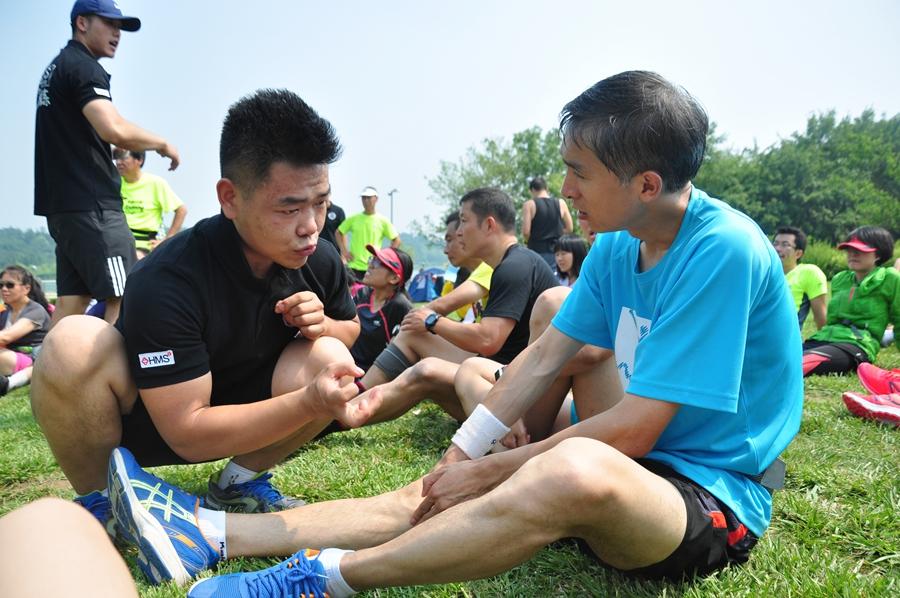 光明乐跑携手A+运动学院带来科学体能训练 跑