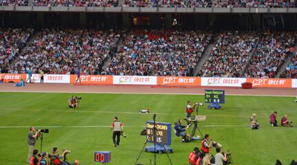 中国企业为全球顶级体育赛事提供营养品