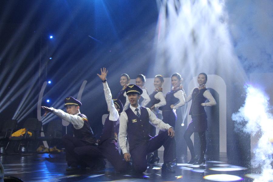 首都航空参与录制湖南卫视《奇舞飞扬》