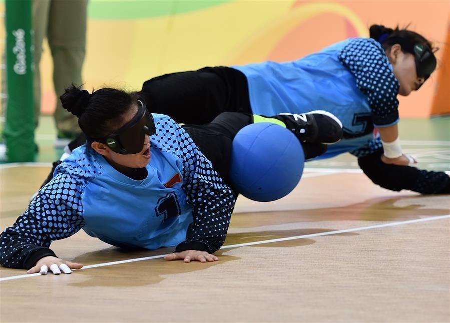残奥门球信息中国女队晋级设计收集秋千决赛盲人来源图片